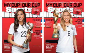 Christen Press and Whitney Engen USWNT Soccer