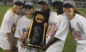 NCAA Champion Women's Soccer Players from Slammeres