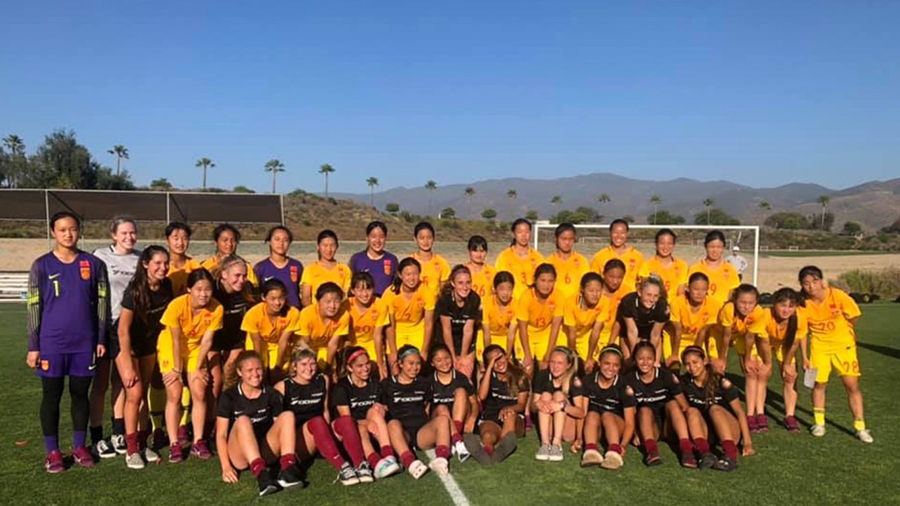 Slammers FC G02 and Chinese national team photo