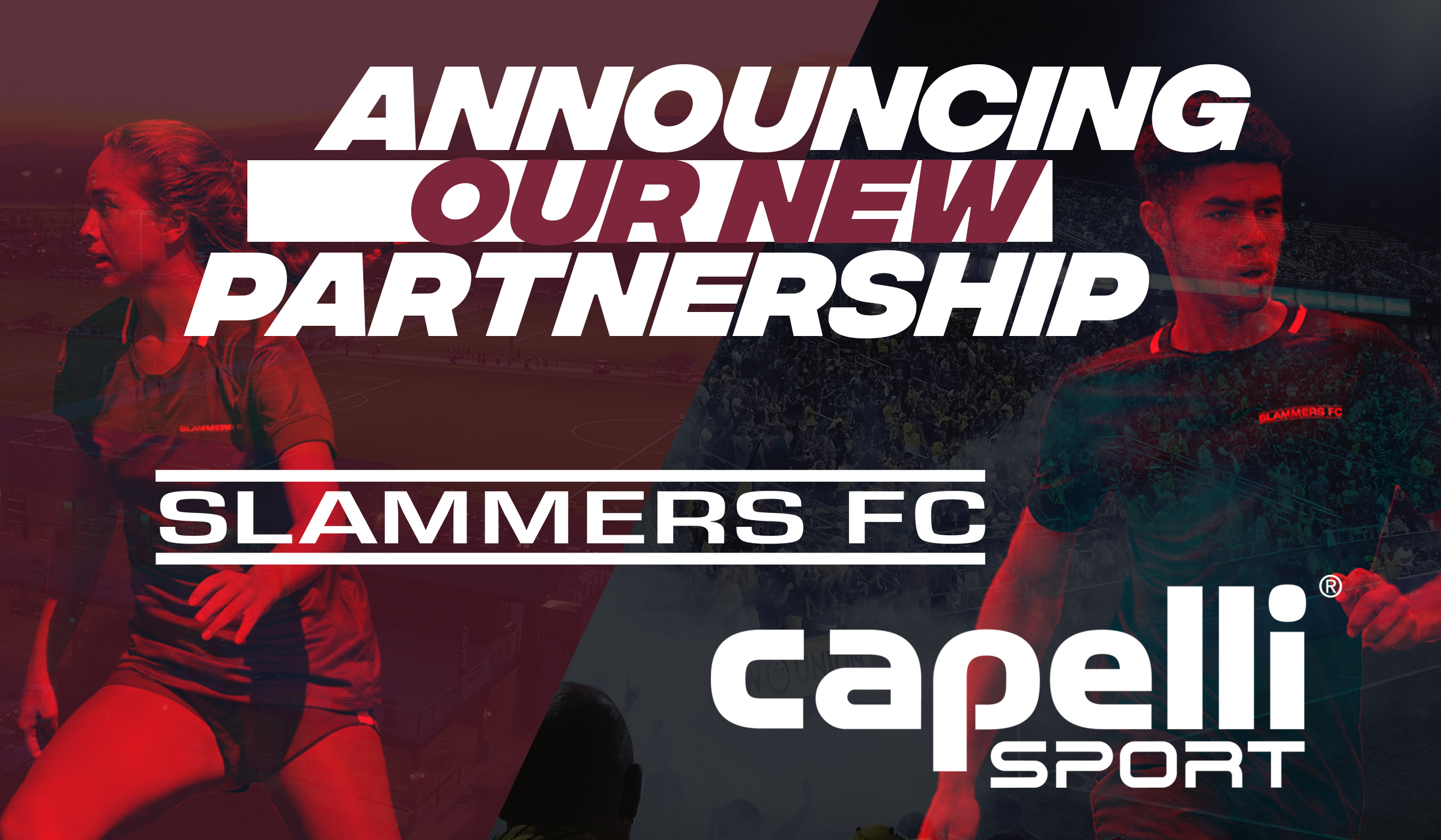 slammers fc and capelli sport logos